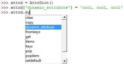Python: Declaring Dynamic Attributes